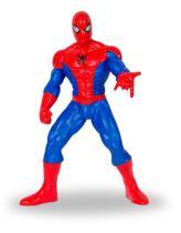 Boneco de vinil Gigante Homem Aranha 50 cm Comics - Tcs