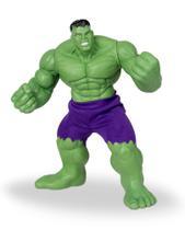 Boneco de vinil Gigante Marvel Hulk 50 cm - Comics - Tcs