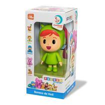 Boneco de vinil nina pocoyo 3021 - Cardoso Toys