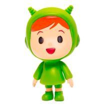 Boneco de Vinil - Nina - Turma do Pocoyo - 15 cm - Verde - Cardoso -