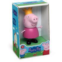 Boneco E Personagem Peppa Pig Princesa Vinil 15Cm.  Elka -