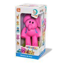 Boneco Elefanta Elly De Vinil - Turma do Pocoyo - Cardos Toys