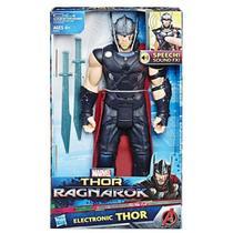Boneco Eletrnico Thor Ragnarok 12 B9970 Hasbro -