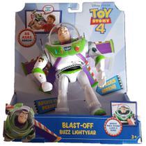 Boneco Eletronico Buzz Lightyear Voo Espacial Com Sons e Luzes - Toy Story 4 GGh39 - Mattel -