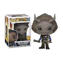 Boneco Erik Killmonger 278 Marvel Pantera Negra (Edição Limitada Chase) - Funko Pop! -