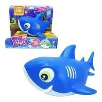 Boneco - Família Shark - Azul - Cometa -