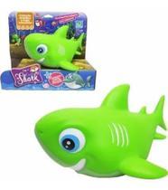 Boneco - Família Shark - Verde - Cometa -