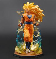Boneco Figure Super Saiajin 3 Goku Dragon Ball Z - Geek Tag