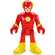 Boneco Flash Grande Imaginext Dc Super Friends 25 Cm Gpt41  Mattel -