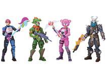 Boneco Fortnite Esquadrão 4 Unidades - Sunny Brinquedos
