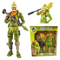 Boneco Fortnite Rex com Acessórios Fun -