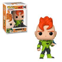 Boneco Funko Pop! Android 16 708 Dragon Ball Z Original+NFe -