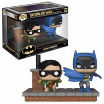 Boneco Funko Pop Batman And Robin 281 New Look 1964 Original -