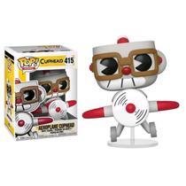 Boneco Funko Pop Cuphead Aeroplane Cuphead 415 Colecionável -