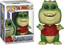 Boneco Funko Pop - Earl Sinclair 959 - Familia Dinossauro -