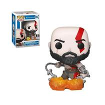 Boneco Funko Pop God Of War Kratos 154 Colecionável -