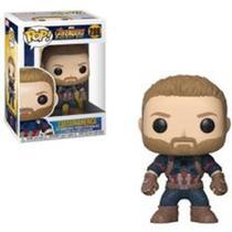 Boneco Funko Pop Marvel Infinity War - Captain America 288 -