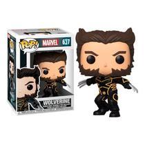 Boneco Funko Pop Marvel  X Men Wolverine 637 Colecionável -