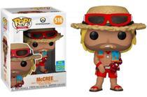 Boneco Funko Pop - McCree 516 - Overwatch Limited Edition -