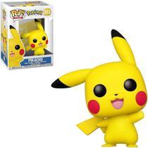Boneco funko pop pokémon - pikachu (waving) 553 -