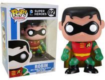 Boneco Funko Pop - Robin 02 - DC Comics Heroes - Original -