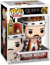 Boneco Funko Pop Rocks Queen Freddie Mercury King 18 -