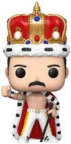 Boneco Funko Pop Rocks Queen Freddie Mercury King 184 -
