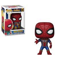 Boneco funko pop spider-man - guerra infinita iron spider -