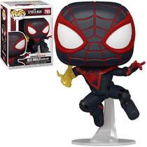 Boneco Funko Pop! Spider Man Miles Morales Classic Suit 765 -