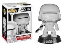 Boneco Funko Pop Star Wars First Order Snowtrooper 67 -