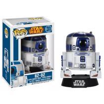 Boneco Funko Pop Star Wars R2-D2 31 Colecionável -