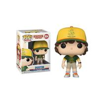 Boneco Funko Pop Stranger Things Dustin 804 At Camp -