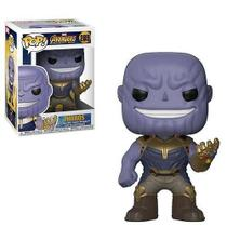 Boneco Funko Pop Thanos Vingadores Guerra Infinita Marvel -