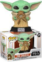 Boneco Funko Pop - The Child Frog 379 Baby Yoda - Star Wars -