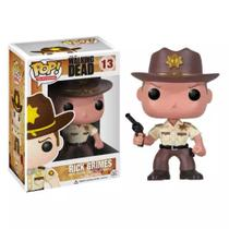 Boneco Funko Pop The Walking Dead Rick Grimes 13 -