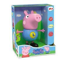 Boneco George Pig Azul Com Atividades Interativas- Peppa Pig Elka -