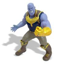 Boneco Gigante Articulado Premium - Thanos - 50 cm - Mimo -