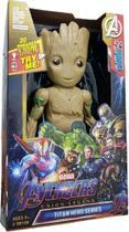 Boneco Groot Guardiões Da Galáxia Articulado 30cm Músical Show. - Avengers
