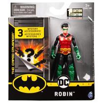 Boneco Guardian Robin  - DC 3 Acessorios Misteriosos - Spin Master -
