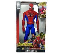 Boneco homem aranha articulado 30 cm - Marvel