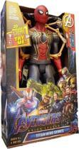 Boneco Homem Aranha com Garras 30cm Articulado com Luz e Som Vingadores - Avengers