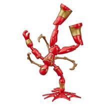 Boneco Homem Aranha de Ferro Bend and Flex - Hasbro -