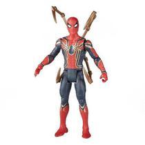 Boneco Homem Aranha De Ferro - Vingadores Guerra Infinita - Power Xf