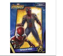 Boneco homem aranha iron spider - avengers - mimo brinquedos -