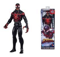 Boneco Homem Aranha Venom Miles Morales Blast Gear - Hasbro -