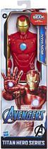 Boneco Homem de Ferro 30cm - Blast Gear Vingadores - Hasbro -