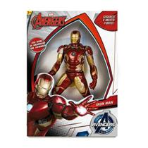 Boneco Homem de Ferro Gigante 50cm Avengers - Mimo