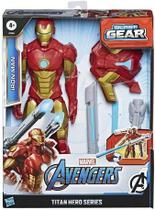 Boneco Homem De Ferro Lançador Blast Gear E7380 Hasbro -
