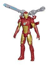 Boneco Homem De Ferro Lançador Titan Hero Blast Gear - Hasbro