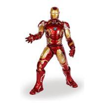 Boneco Homem De Ferro Premium Com Reator Gigante 48cm Mimo -